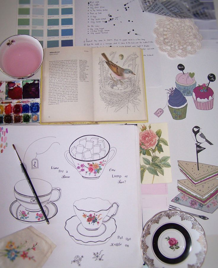 Ashley Thomas Surface Pattern Designer | Sketchbook