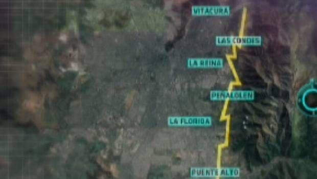 Falla de San Ramón en la mira - 24 Horas - Televisión Nacional de Chile