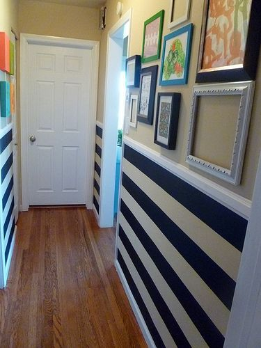 184 Best Color Block And Striped Walls Images On Pinterest
