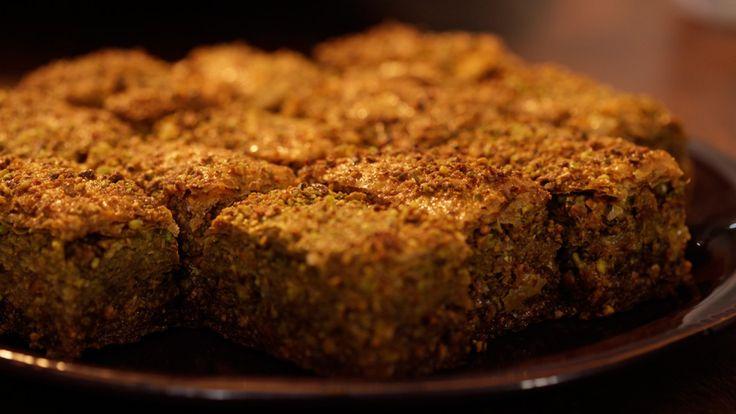 Une recette de baklavas citron-pistaches, présentée sur Zeste et zeste.tv