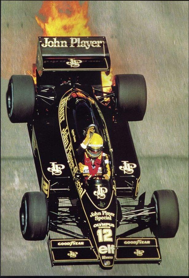 Ayrton Senna - Lotus F1
