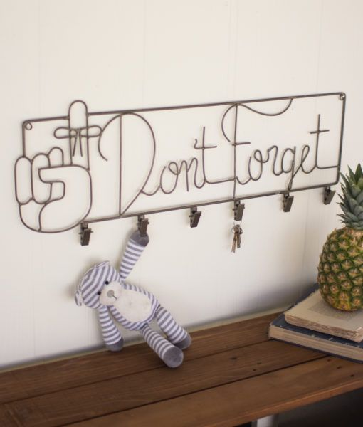 Don't Forget Wall Rack