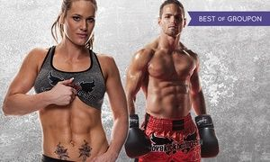 Groupon - 4 or 10 Kickboxing Classes with Personal-Training Session and Boxing Gloves at iLoveKickboxing.com ( 74% Off )   in Multiple Locations. Groupon deal price: $30