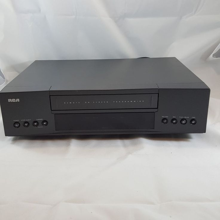 RCA (VR342) VHS / VCR Player & Recorder w/ Onscreen Programming - No Remote  | Consumer Electronics, Vintage Electronics, Vintage Audio & Video | eBay!