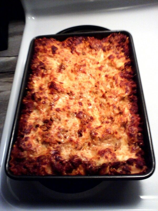 lasagna done right