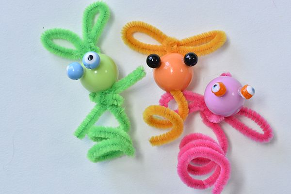 final look of the chenille little people crafts