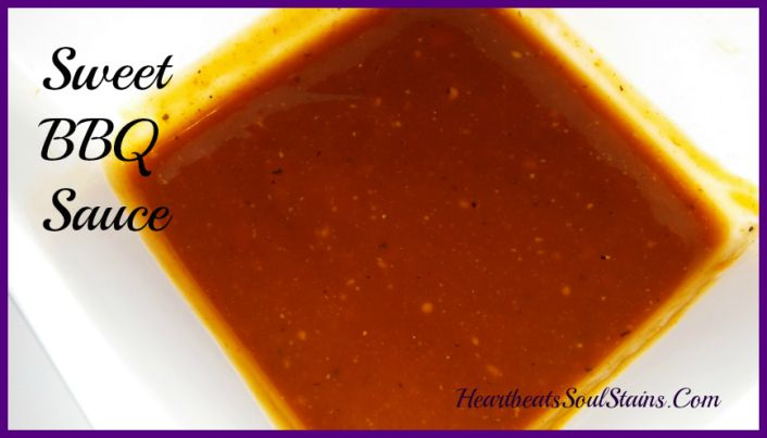 Sweet BBQ Sauce perfect for any recipe!