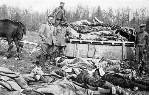 """Romantik im Stahlgewitter — """"Aufnahmen der Wirklichkeit des 1. Weltkrieges"""""""