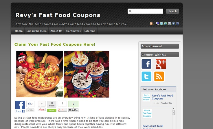 72 best random coupons images on pinterest food coupons fast the best and greatest fast food coupons website to date obviously because its mine fandeluxe Images
