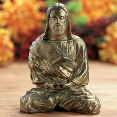 as much as i love the buddha heads for meditation...it would be even cooler & more conscious clearing to find a cute jesus piece! lol