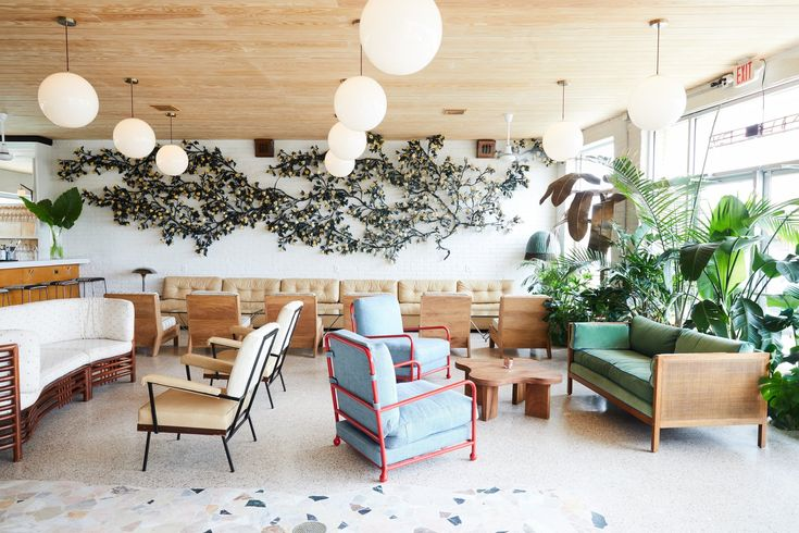Built in 1957, an artful hideaway on an industrial stretch of Tulane Avenue in New Orleans has been remade into a modern-day retreat for the contemporary traveler.