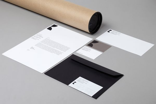 Stationery design by Hi Ho for Melbourne-based architecture and interior design firm K2LD.