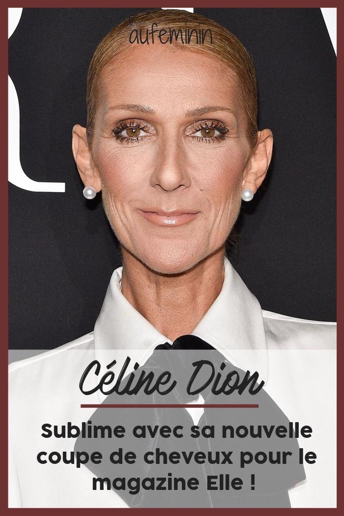 Céline Dion, sublime avec une toute nouvelle coupe pour le