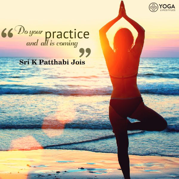 """Yoga quotes. Do your practice and all is coming"""""""