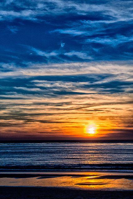 Sunset at Carmel, California. Heaven on Earth.