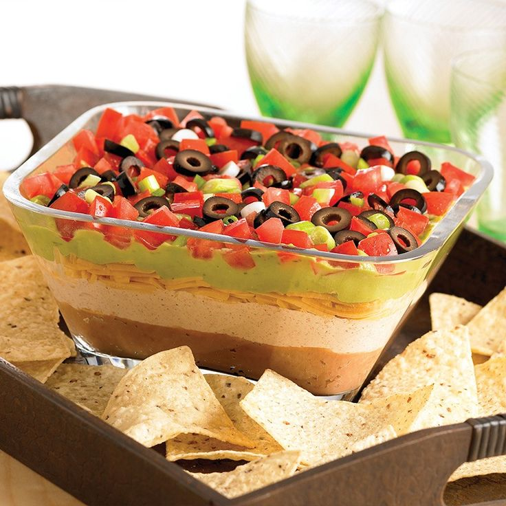 From football parties to Cinco de Mayo celebrations, serve this classic party dip when you are entertaining a crowd.