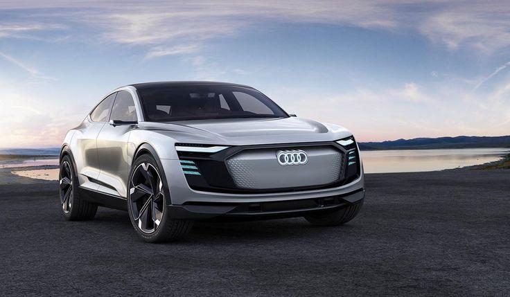 Hi-tech Audi E-Tron Sportback concept has over 200 LED lights