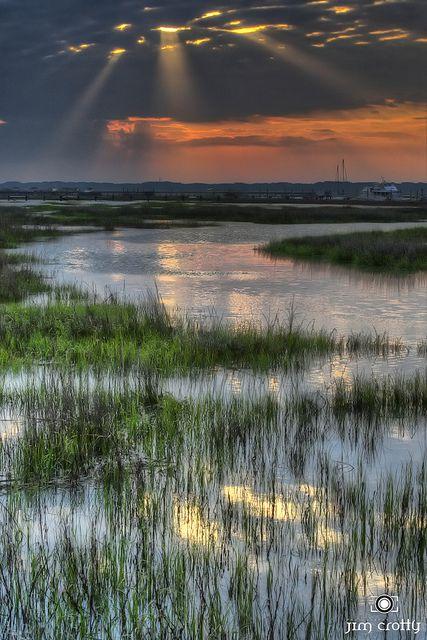 Sunrise Over Broad Creek, Hilton Head Island, South Carolina, USA1