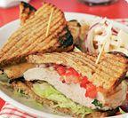 Slimming World chicken sandwich...