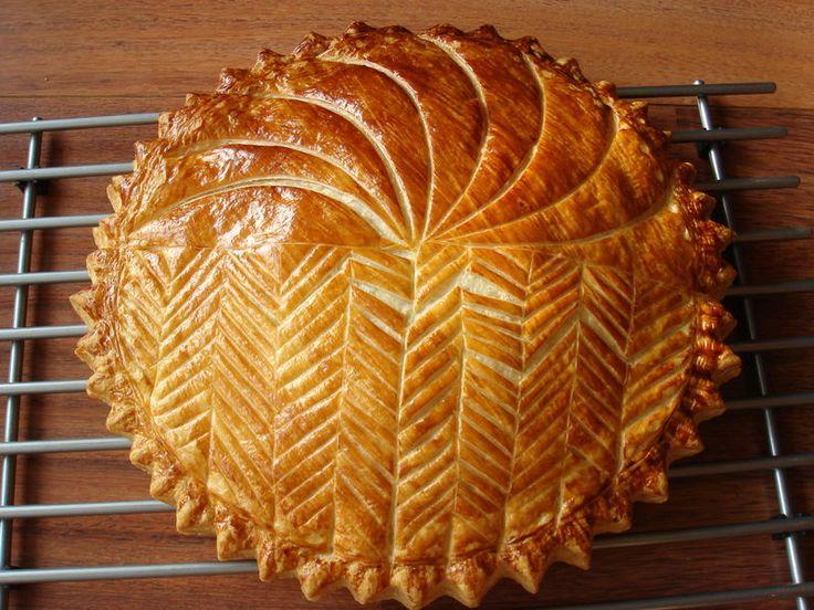 Galette des rois choco-noisette... à la pâte feuilletée inversée ...