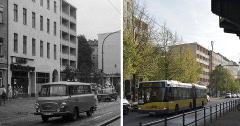 Berlin in Vorher-Nachher-Bildern: Prenzlauer Berg - damals und heute