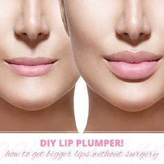 Get luscious lips with a DIY lip plumper!