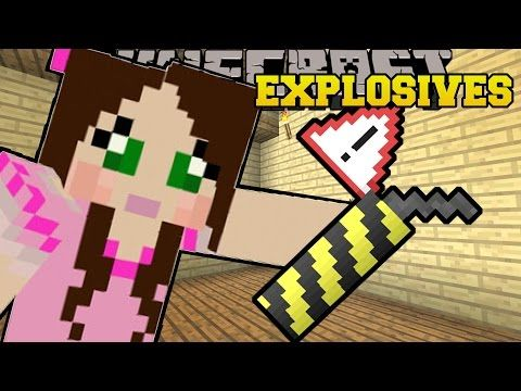 Minecraft: OVERPOWERED EXPLOSIVES & WEAPONS!! (ROCKET LAUNCHERS, DYNAMITE, & MORE!) Mod Showcase - YouTube