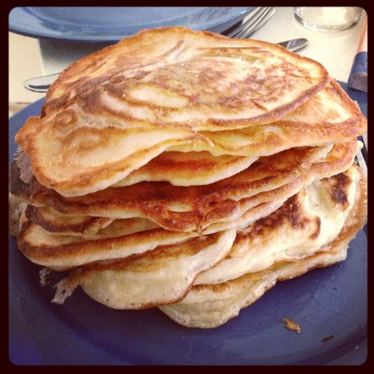 Pancakes for brunch