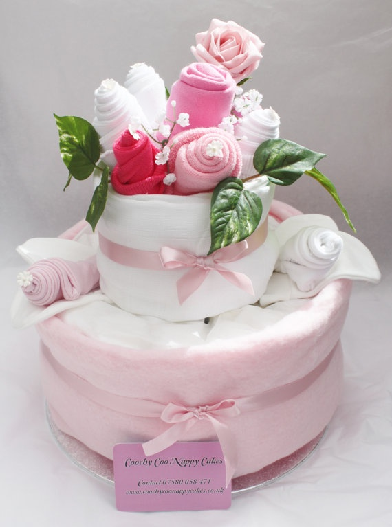 How To Make A Nappie Cake For A Baby Shower