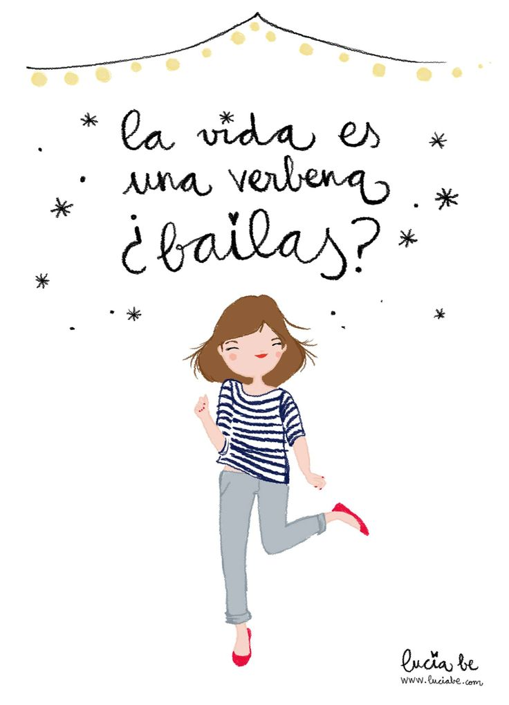 Nice illustration by Lucía Be luciabe.com