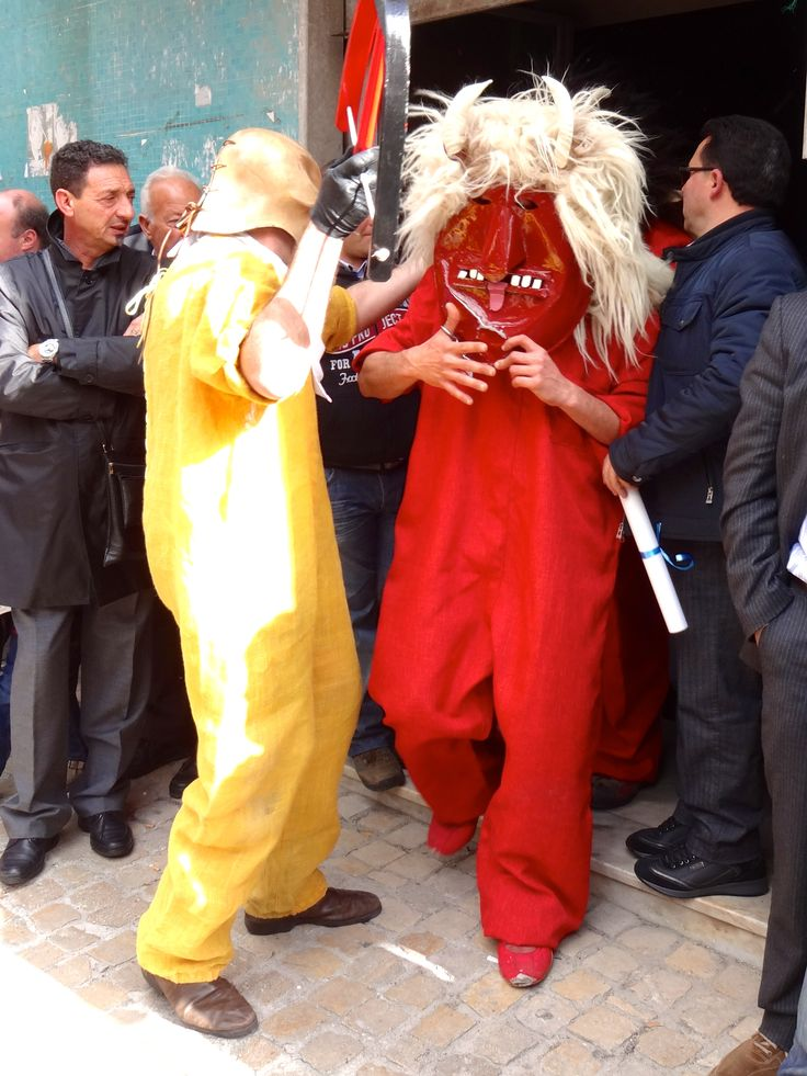 Dance of the Devils (Easter Sunday), Prizzi, Sicily. A dance which plays out to make one remember the attempts of evil to destroy the forces of good.