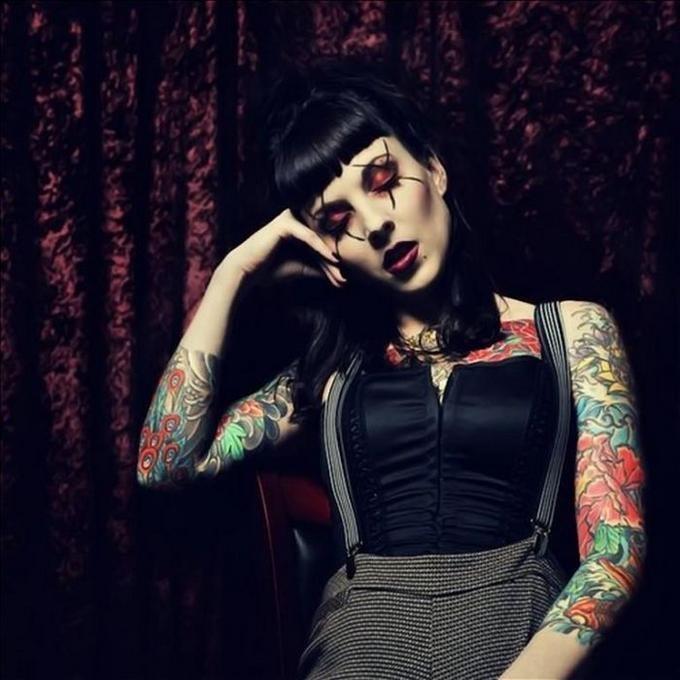 #Tattoo Girl