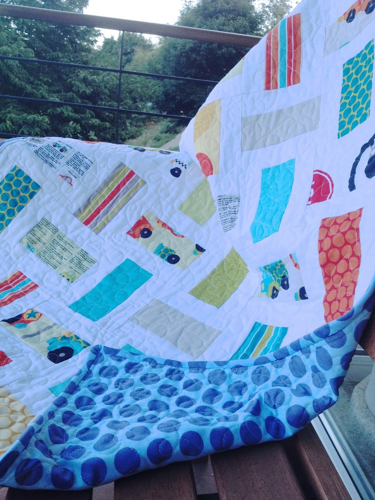 Cosiendo parches: Manta para Emma Gray