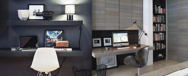 36 best Home office images on Pinterest Work spaces, Corner office - homeoffice einrichtung ideen interieur