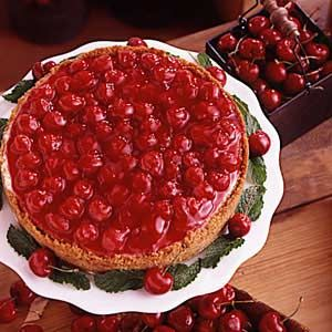 Creamy Cherry Cheesecake *HUGE hit with the family. Have made several times and will be making again and again...