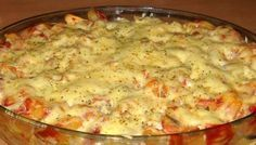 Vynikající volba na chutný oběd. Je to vcelku jednoduché a hlavně rychlé. Kdo má rád těstoviny, určitě si pochutná.