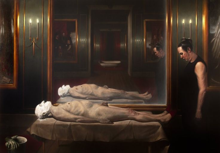 Plaster the Death by Ken Currie
