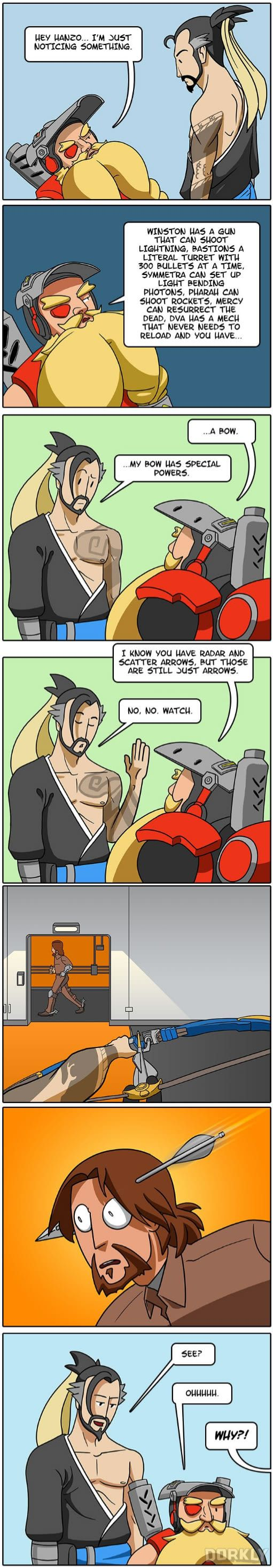 Why Hanzo is Secretly the Best Overwatch Character