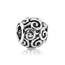 Pandora Openwork Ocean Breeze Charm : My love of our family vacations to the beach drew me to this one.