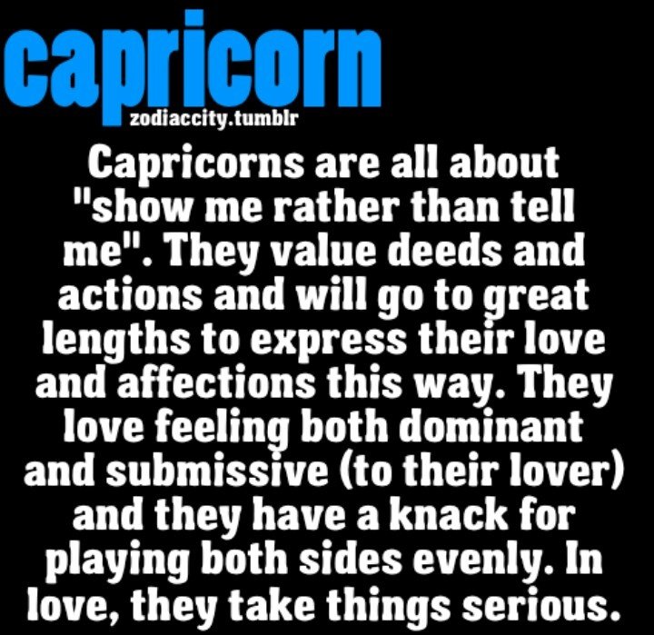 How a capricorn woman shows love