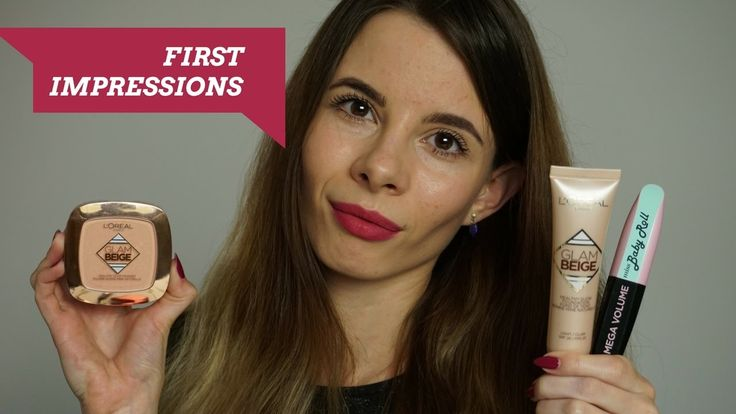 L'oreal Glam Beige HEALTHY GLOW FOUNDATION&POWDER + BABY ROLL MASCARA First Impressions | Tommelise Hello everybody! Watch in HD!!!  In this video I will try out new Healthy Glow Foundation, Healthy Glow Powder and Mega Volume Baby Roll Mascara fro...