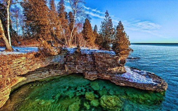 Озеро Мичиган -самое большое озеро США  / Богатая добыча