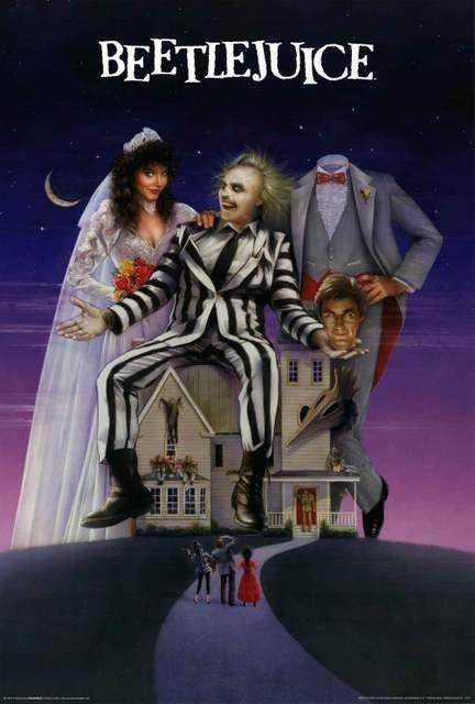 Beetlejuice Movie Poster 24x36