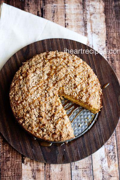 Caramel Pumpkin Coffee Cake