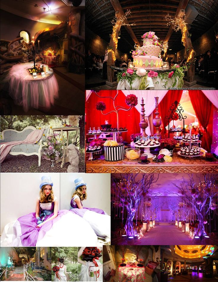 Party ideas alice in wonderland pinterest for Alice in wonderland birthday decoration ideas
