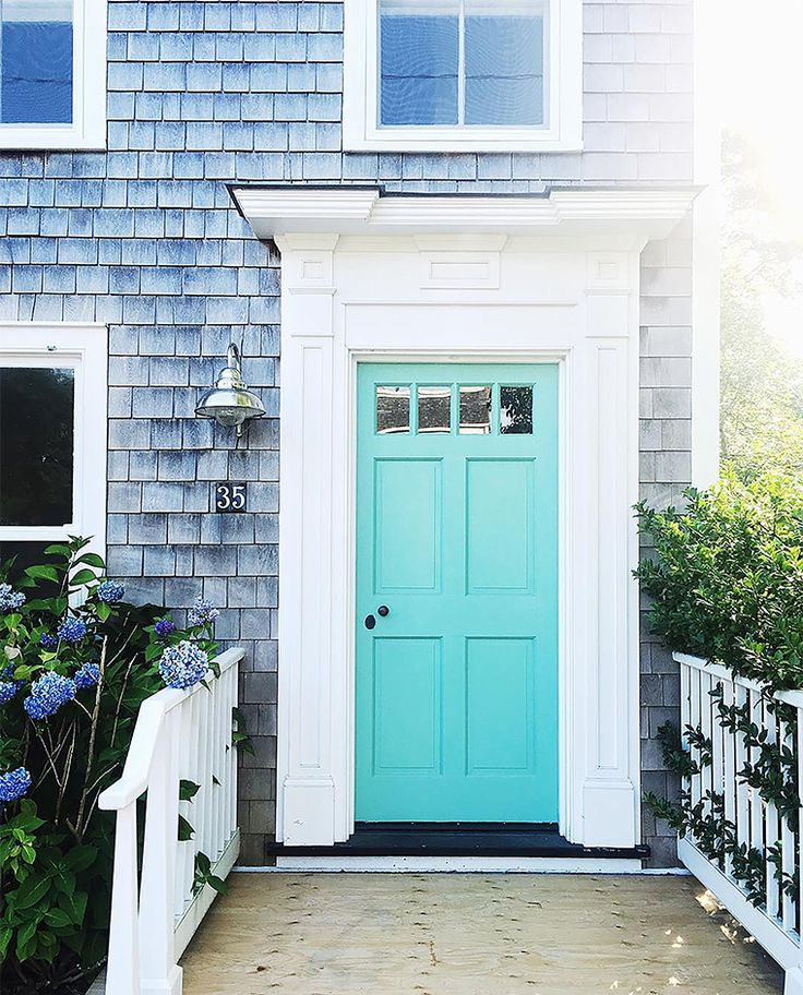 Sag Harbor NY\u0027s Coastal Charm & 392 best Front Door Charm images on Pinterest | Front door colors ... Pezcame.Com