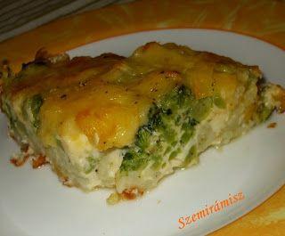 Szemirámisz függőkertje: Karfiol-brokkoli rakottas