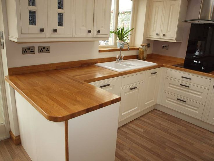 Wooden Work Surfaces Feature In Our New Customer Kitchens Gallery For Solid Wood Kitchen Worktops Reviews Plan