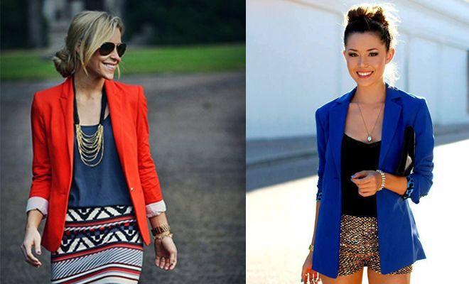 Hoy te proponemos 5 looks perfectos para combinar un blazer. ¡Si tienes dudas entra y mira! Porqué puedes conseguir estilos diferentes con la misma prenda.