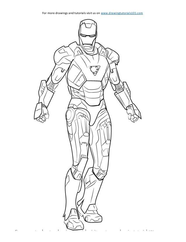 How To Draw Iron Man Sketch Iron Man Drawing Man Sketch Iron Man Pictures